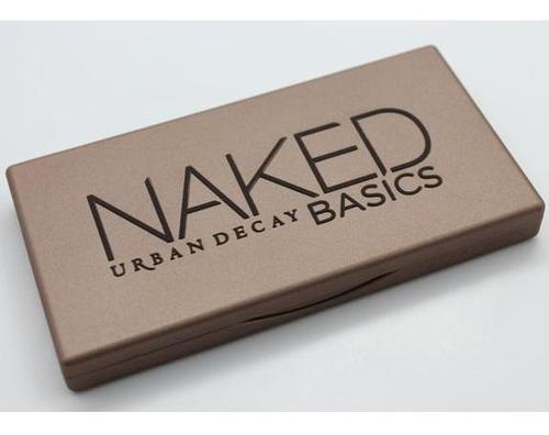 urban decay - paleta de sombras - naked basics