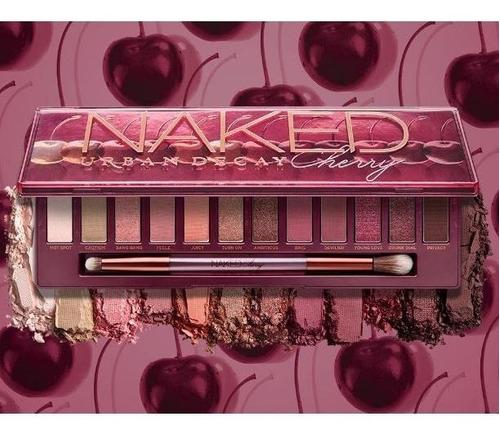 urban decay - paleta de sombras - naked cherry