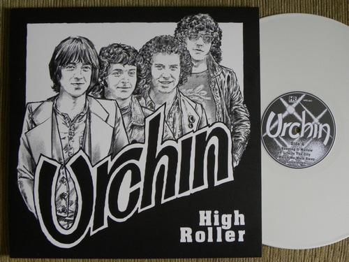 urchin high roller lp com adrian smith do iron maiden