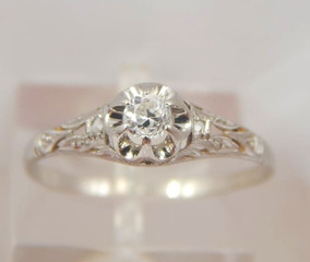 7eb0833ba97a Anillo Con Diamante 1 Kilate en Mercado Libre Argentina