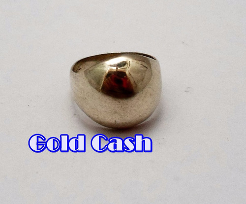 urgente anillo de plata de cabuyon