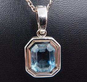 118fc38987c3 Collar De Topacio Azul en Mercado Libre Argentina