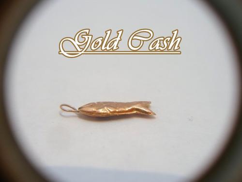 urgente dije de oro pez pequeño $890 (s)