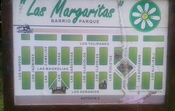 urgente lote de 10 x 33 mts. en las margaritas. negociables