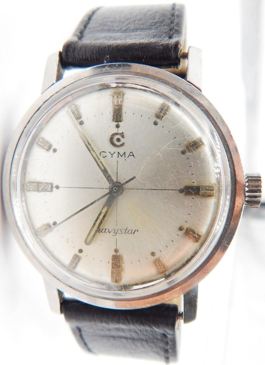d6ccddf5533c Urgente Reloj Cyma Navystar Art 111. Diametro 37.3 mm -   3.500