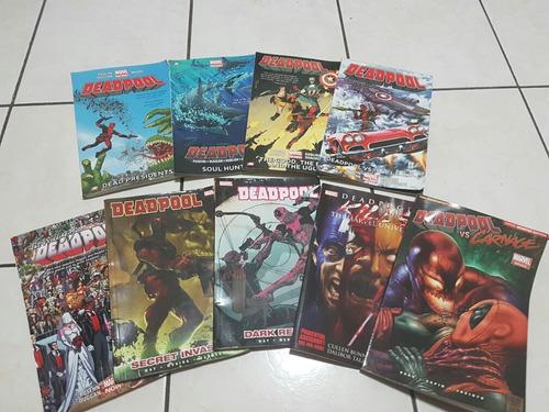 urgente vender coleccion de comics de deapool