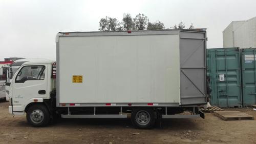 urgente venta de camion yuejin furgon cerrado año 2011