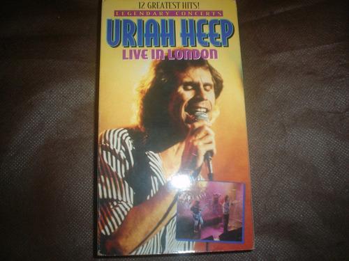 uriah heep - vhs live in london - video