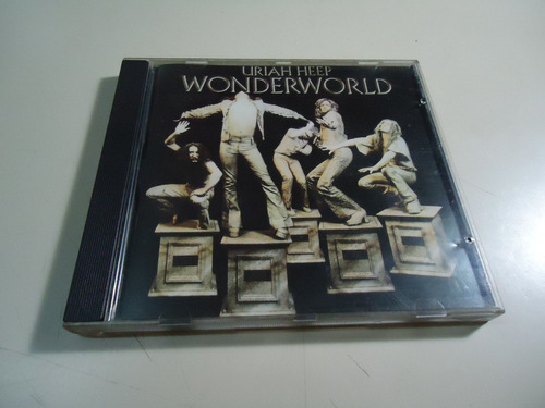 uriah heep - wonderworld - made in england