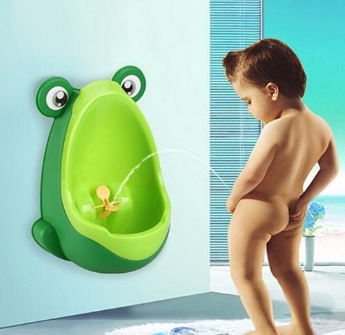 urinario (bacín) para niños modelo sapito
