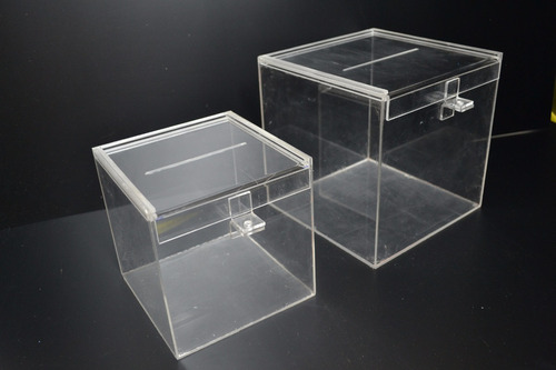 urna acrilico 20x20x30, ideal sorteo / casamientos!