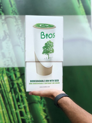 urna biodegradable bios life para humano
