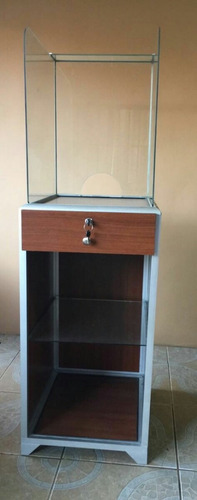urna nueva con mueble para resguardo de dinero