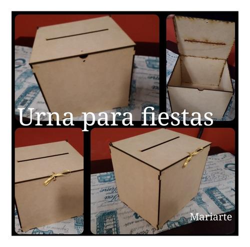 urna/cofre/buzon/caja eventos - boda, casamiento y 15 años-