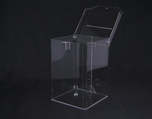 urnas de acrílico 20x20x30 cm ideal casmientos. urna