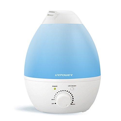 urpower por ultrasonidos humidificador de vapor frío, 2.4l