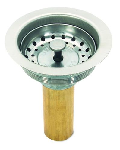 urrea contra canasta para fregadero con tubo de latón 3814