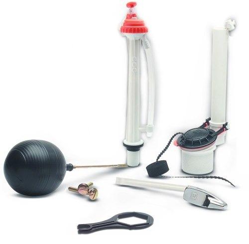 urrea juego completo accesorios de plástico para wc k0506p
