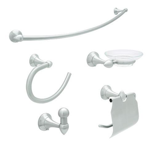 urrea juego de 6 accesorios para baño clasico 3100