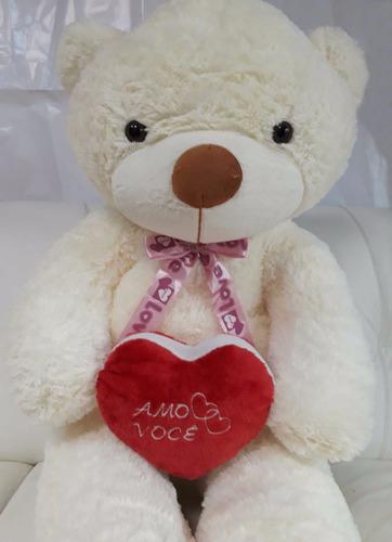 ursinho 120 cm urso bicho pelucia carinhoso você é especial