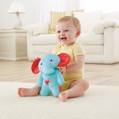 ursinho elefante azul calmante fisher price vibra