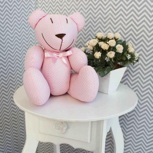 ursinho enfeite decoração quarto criança bebê várias cores