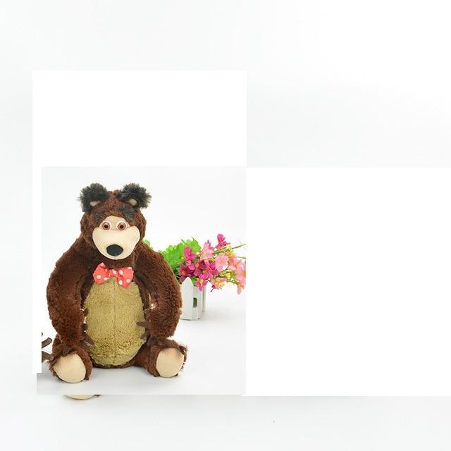 Urso 39 Cm Pelucia Do Desenho Masha Com Musicas R 189 90 Em