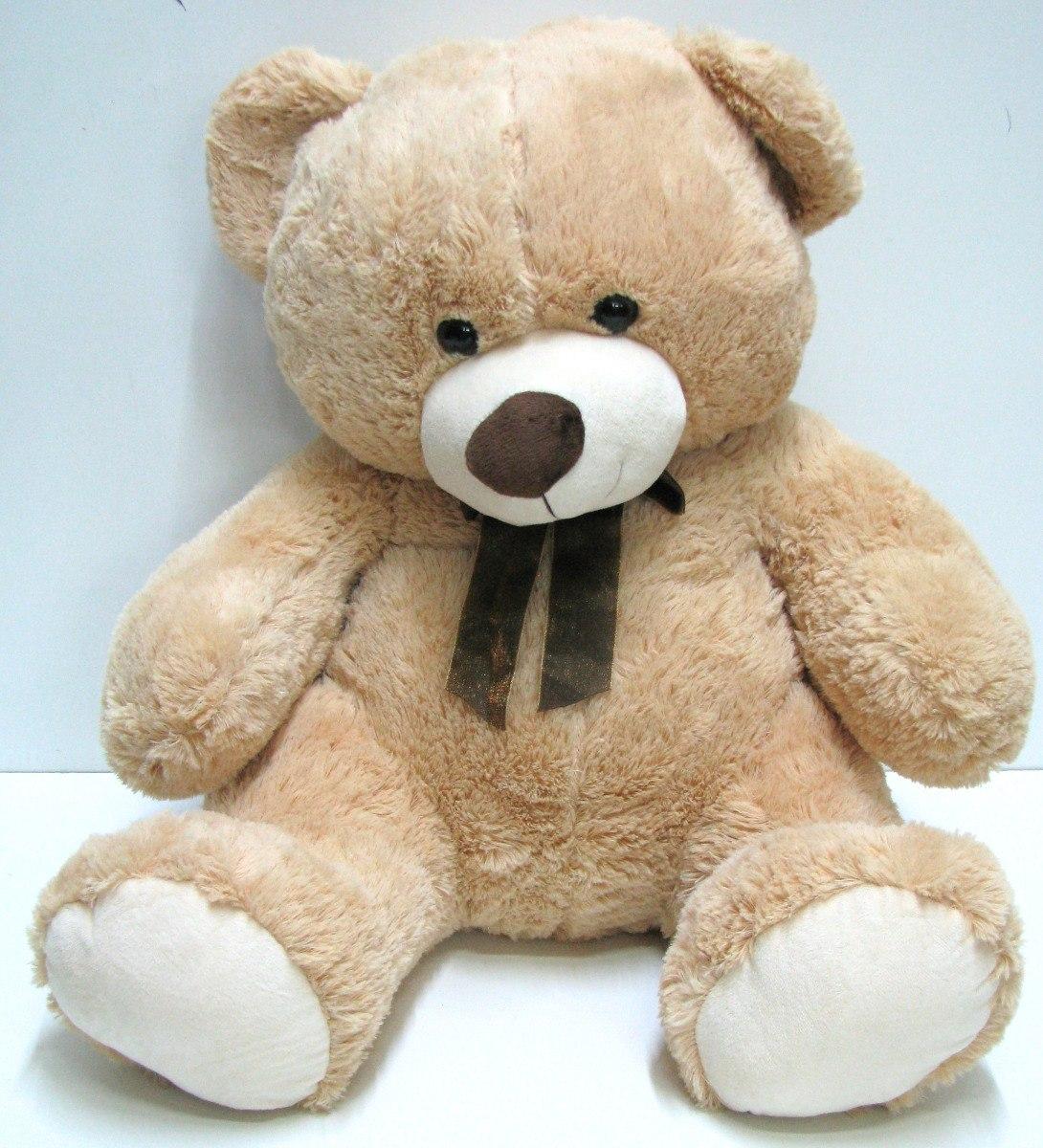 3840fe534 Urso Bicho Pelúcia Macia Grande 75cm Presente Fb5 Urs - R  99