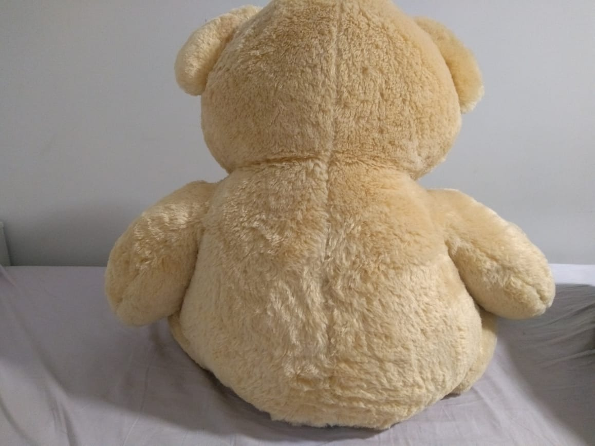 urso charles gg bege buba 70 cm sentado. Carregando zoom. 5f5ee1f194776