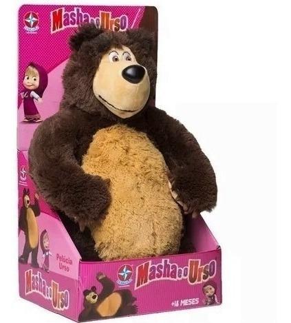 urso da masha brinquedos estrela original