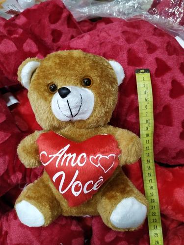 urso de pelucia 20 cm de altura cestas e presente