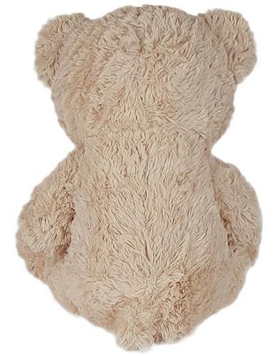 urso de pelúcia 60cm bege