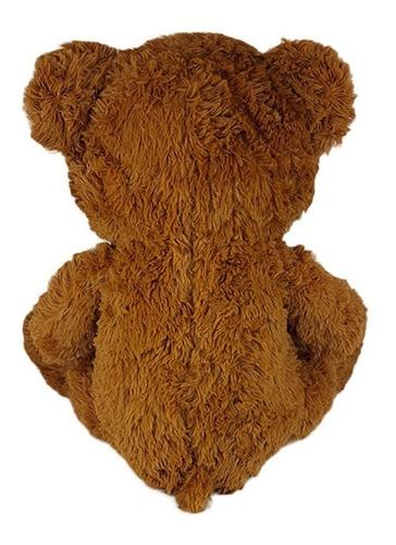 urso de pelúcia 60cm marrom