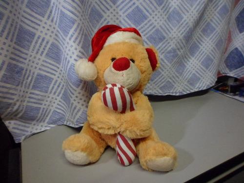 urso de pelúcia de natal 25 cm