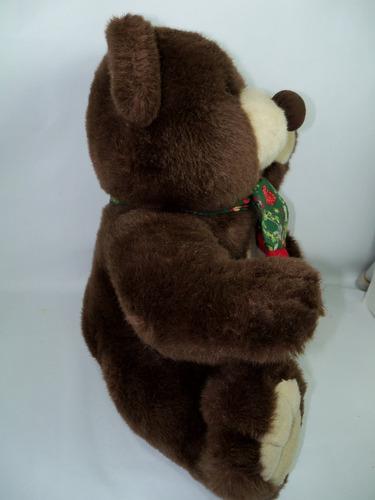 urso de pelúcia marrom 40 cm