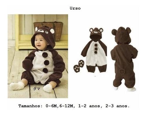 urso fantasia ursinho bichinhos bebê fotos pronta entrega