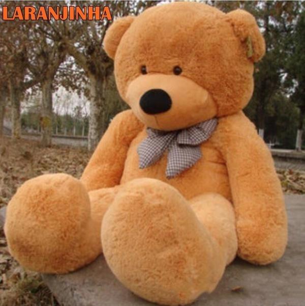 3062088d6 Urso Gigante De Pelucia Teddy Bear - 2 Metros Cheio - R  399