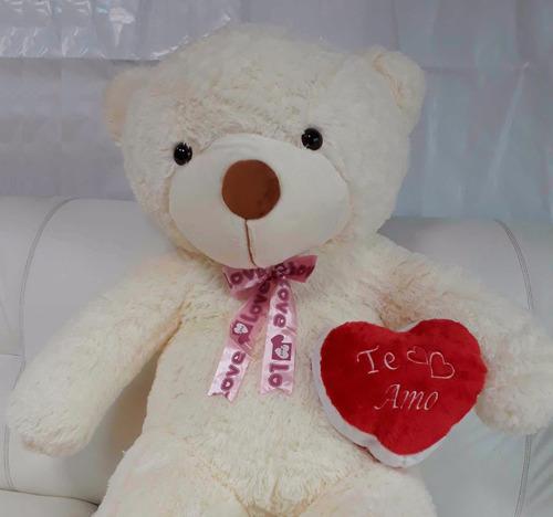 urso gigante grande com coração amo você presente namorada