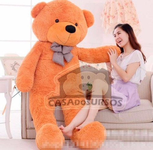 urso gigante pelucia 1,8 mts 180cm - casa dos ursos curitiba