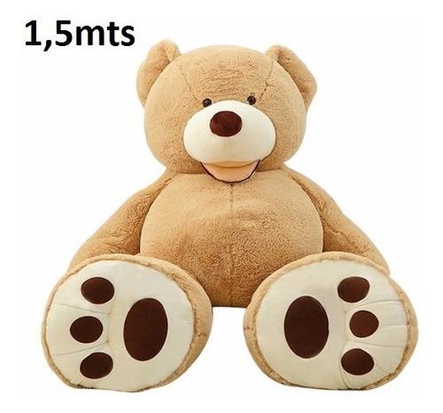 urso gigante teddy bear pelúcia grande 1,50 metros - 150cm