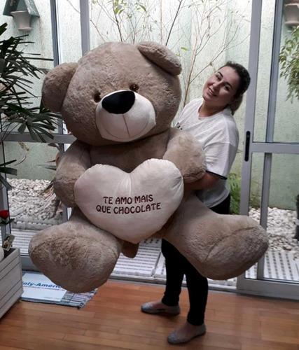 urso marfim enorme gigante 1,3 metros supreenda quem ama