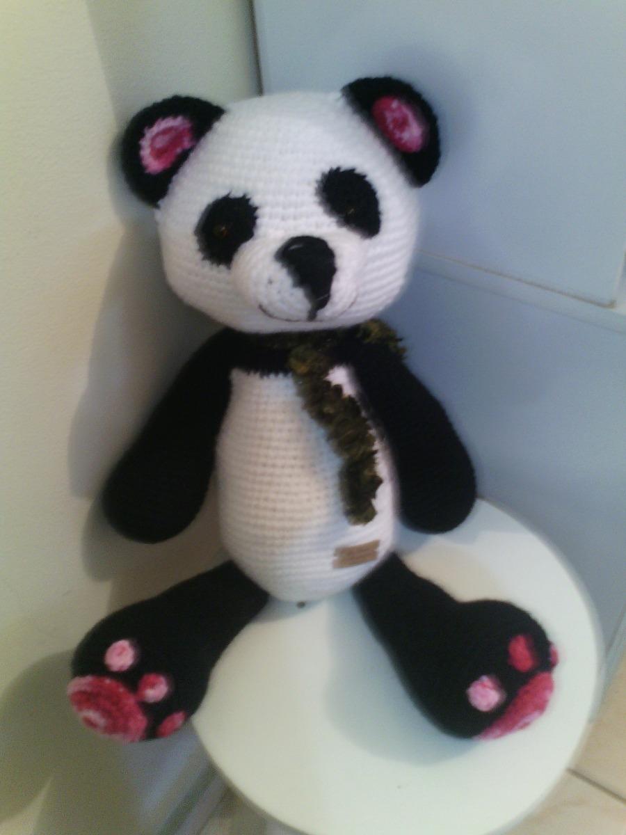 119 Crochet Pattern - Panda - Amigurumi Pdf file by Pertseva Cp | 1200x900
