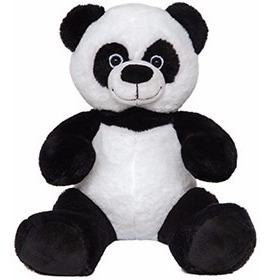 urso panda de pelúcia! pelúcia original nova