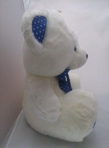 urso pelúcia 50 cm namorada presente mulher azul top lindo