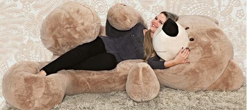 urso pelúcia gigante 2 metros 200cm presente apenas curitiba