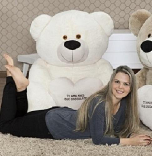 urso pelúcia gigante big tedy 1,3 mts 130cm dia do namorados