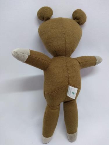 urso ted teddy bean de pelúcia (25cm)