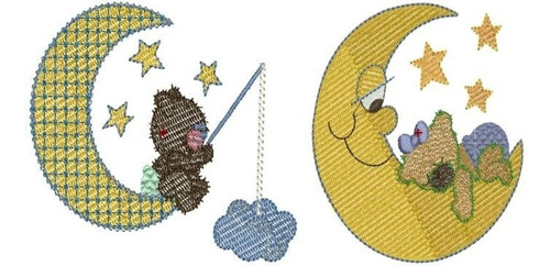 urso teddy baby sonhos - 24 matrizes de bordados comput.