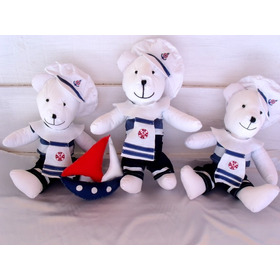 Ursos Marinheiros Decoração De Quarto Infantil De Bebê Tecid