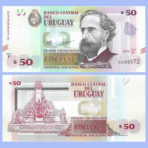 uruguay billete urug.